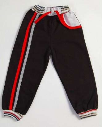 Спортивные брюки для мальчика, можно и для девочек (серые)  с разноцветными ламп. Киев, Киевская область. фото 5