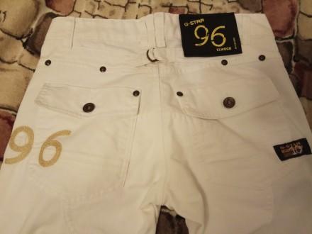 Белые котоновые джинсы , производства Индия для подростка 13-14 лет. Ткань плотн. Бердянск, Запорожская область. фото 7