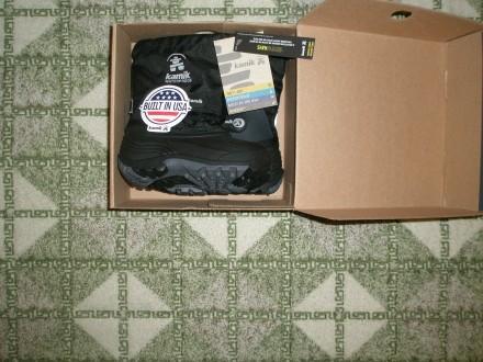 Продам дуже теплі зимові чобітки на хлопчика відомого канадського бренду Kamik ч. Ровно, Ровненская область. фото 4