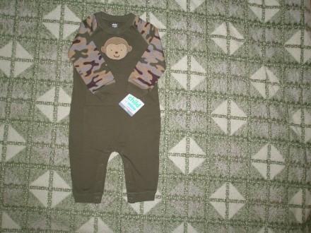 Продам бавовняний комбінезон відомого американського бренду Child of mine made b. Ровно, Ровненская область. фото 4