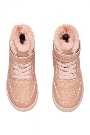 Демисезонные хайтопы, сникерсы, ботинки, кроссовки для девочки, h&m, германия. Винница. фото 1