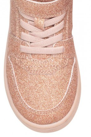 Ультрамодная и стильная обувь для девочек. Блестящие сникерсы деми. Производител. Винница, Винницкая область. фото 4