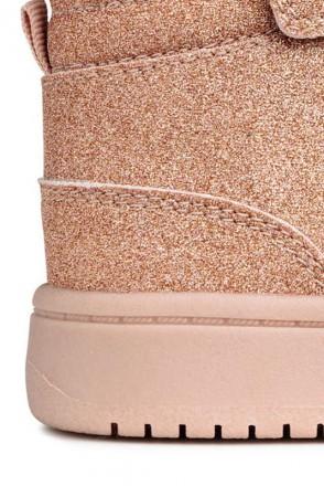 Ультрамодная и стильная обувь для девочек. Блестящие сникерсы деми. Производител. Винница, Винницкая область. фото 5