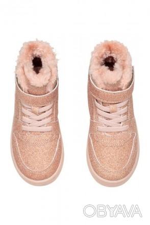 Ультрамодная и стильная обувь для девочек. Блестящие сникерсы деми. Производител. Винница, Винницкая область. фото 1