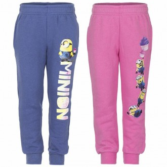 Теплые штаны для девочек от фирмы disney с миньонами р.3,4,6,8. Винница. фото 1