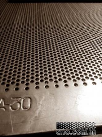 Решето к дробилкам КДУ 388х663 мм.Толщина 2.0 мм,Ячейка 3,0:4,0;5,0:6,3;8.0 мм. Днепр. фото 1
