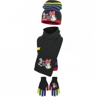 Набор шапка, шарф, перчатки, для девочки. Производитель Disney.  Очень яркие, к. Винница, Винницкая область. фото 3