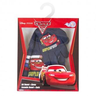 Комплект шапочка и перчатки для мальчика. Производитель Disney, Pixar.  Качеств. Винница, Винницкая область. фото 3