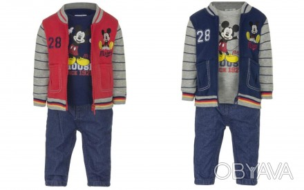 Стильный и теплый костюм для малыша. Производитель Disney baby, Германия.   В к. Винница, Винницкая область. фото 1