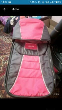 Продам коляску Adamex  Patrol.Цвет розовый с серым Характеристики - есть люльк. Запорожье, Запорожская область. фото 6