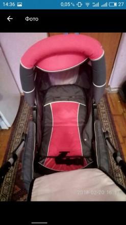 Продам коляску Adamex  Patrol.Цвет розовый с серым Характеристики - есть люльк. Запорожье, Запорожская область. фото 4
