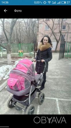 Продам коляску Adamex  Patrol.Цвет розовый с серым Характеристики - есть люльк. Запорожье, Запорожская область. фото 1