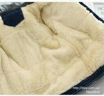 Стильная КРАСНАЯ куртка, очень тепленькая (овчина капюшон и грудка) Цена 520 грн. Винница, Винницкая область. фото 3
