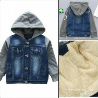Стильная КРАСНАЯ куртка, очень тепленькая (овчина капюшон и грудка) Цена 520 грн. Винница, Винницкая область. фото 2