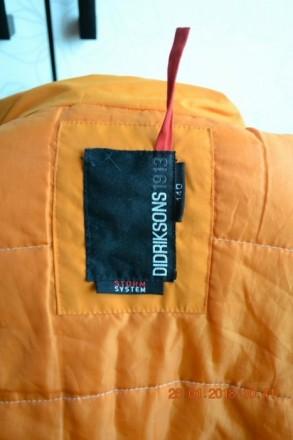 Суперова непродувна курточка didriksons оригінал,замовлялась на даному сайті htt. Долина, Ивано-Франковская область. фото 6