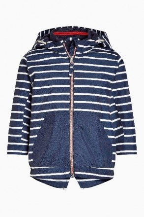 Стильная куртка синяя в белую полоску. Плотный влагостойкий верх, подкладка - фл. Днепр, Днепропетровская область. фото 2