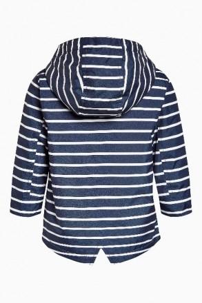 Стильная куртка синяя в белую полоску. Плотный влагостойкий верх, подкладка - фл. Днепр, Днепропетровская область. фото 3