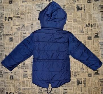 Куртка-парка для мальчиков, наполнитель холофайбер. Карманы на замках, капюшон о. Нежин, Черниговская область. фото 3