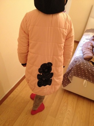 Фирменная курточка (в хорошем состоянии) , на возвраст 8-11 лет (рост 134-150), . Бровары, Киевская область. фото 4