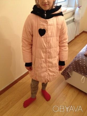 Фирменная курточка (в хорошем состоянии) , на возвраст 8-11 лет (рост 134-150), . Бровары, Киевская область. фото 1