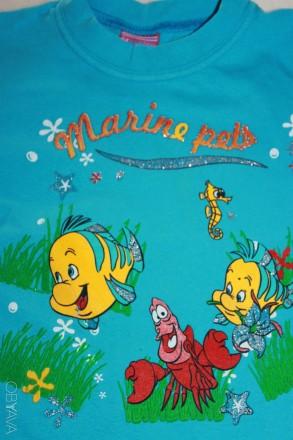 Очень качественная футболочка, в хорошем состоянии, без нюансов. НЕ линяет, НЕ р. Запорожье, Запорожская область. фото 3