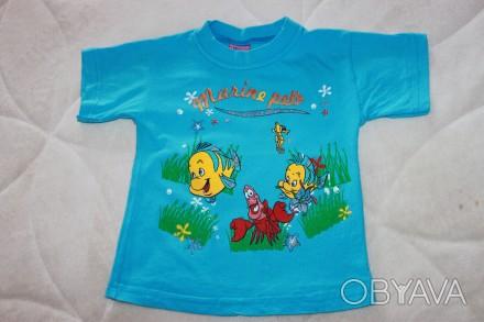 Очень качественная футболочка, в хорошем состоянии, без нюансов. НЕ линяет, НЕ р. Запорожье, Запорожская область. фото 1