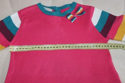 Хорошенькая стильная кофта-туника-реглан ТМ INDIGO - ооочень качественная вещичк. Запорожье, Запорожская область. фото 8