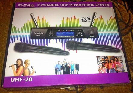 Продам радіомікрофон Ibiza UHF20. Переяслав-Хмельницкий. фото 1