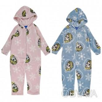Теплая пижамка из велсофта для девочки, отменное качество. Производитель Disney.. Винница, Винницкая область. фото 1