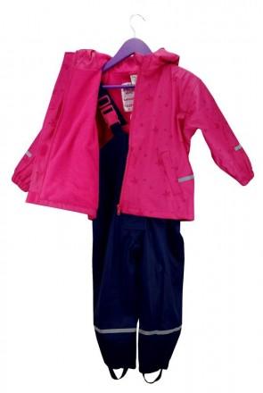 Раздельный комбинезон- дождевик для девочки. Комбинезончик полностью утеплен фли. Винница, Винницкая область. фото 4