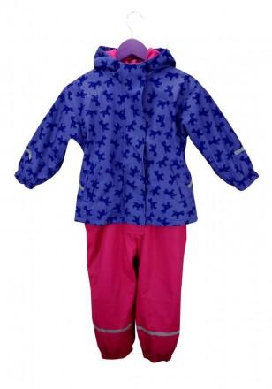 Раздельный комбинезон- дождевик для девочки. Комбинезончик полностью утеплен фли. Винница, Винницкая область. фото 8