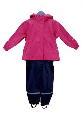 Раздельный комбинезон- дождевик для девочки. Комбинезончик полностью утеплен фли. Винница, Винницкая область. фото 3