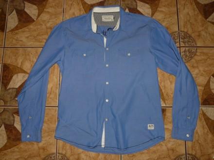 Рубашка под джинсы Jack & Jones size xL/52 оригинал 100% хлопок.. Черкассы. фото 1