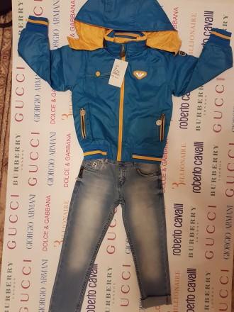 Суперовая детская курточка весна-осень. Возраст:1, 2, 3, 4, 5, 6, 7, 8, 9лет. Це. Херсон, Херсонская область. фото 4