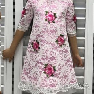 Шикарное платье D&G р-ры:4, 5, 6, 8, 10, 12 лет 1500 грн.. Херсон, Херсонская область. фото 1
