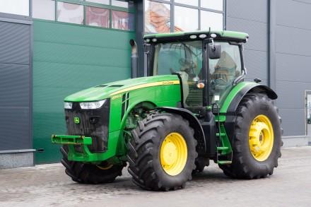 Колёсный трактор John Deere 8345R PowerTech Plus. Житомир. фото 1