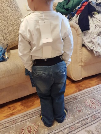 Джинсы на мальчика Armani  малыши на резинке р-ры: рост:68, 74, 80, 86, 92, 98см. Херсон, Херсонская область. фото 4