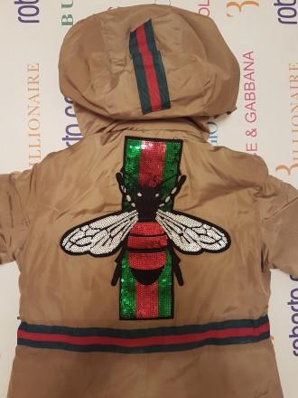 Куртка-парка Gucci р-ры:4, 6, 8, 10, 12, 14 лет . 1500 грн.. Херсон, Херсонская область. фото 3
