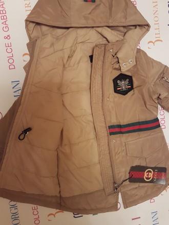 Куртка-парка Gucci р-ры:4, 6, 8, 10, 12, 14 лет . 1500 грн.. Херсон, Херсонская область. фото 2