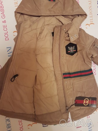Куртка-парка Gucci р-ры:4, 6, 8, 10, 12, 14 лет . 1500 грн.. Херсон, Херсонская область. фото 1