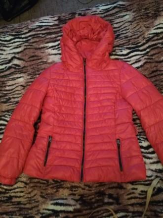 Куртка весенне-осенняя в хорошем состоянии.Очень удобная и практичная.. Лубны, Полтавская область. фото 2