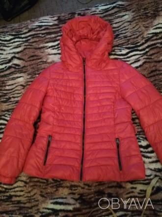 Куртка весенне-осенняя в хорошем состоянии.Очень удобная и практичная.. Лубны, Полтавская область. фото 1