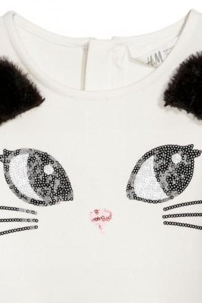 Нарядное платье с коротким рукавом. Производитель H&M, Германия. Стильная и очеь. Винница, Винницкая область. фото 3