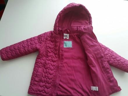 Куртка деми, красивый насыщенный цвет...тонкий слой утеплителя. Размер указан 98. Кропивницкий, Кировоградская область. фото 4