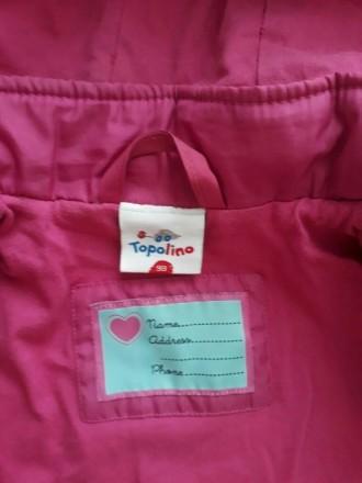 Куртка деми, красивый насыщенный цвет...тонкий слой утеплителя. Размер указан 98. Кропивницкий, Кировоградская область. фото 3