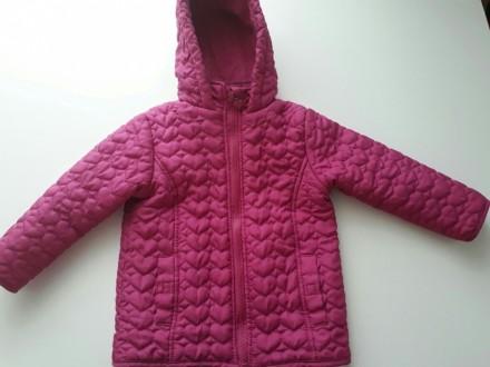 Куртка деми, красивый насыщенный цвет...тонкий слой утеплителя. Размер указан 98. Кропивницкий, Кировоградская область. фото 5