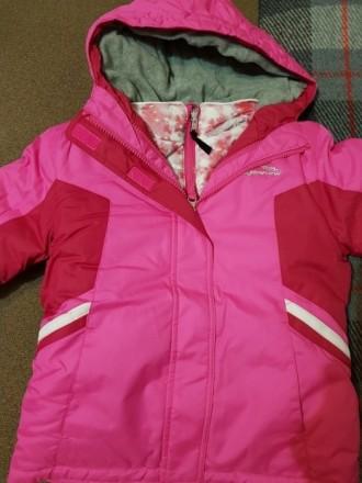 Куртка для девочки 3в1. Можно использовать как утепленную ветровку, отдельно как. Киев, Киевская область. фото 3
