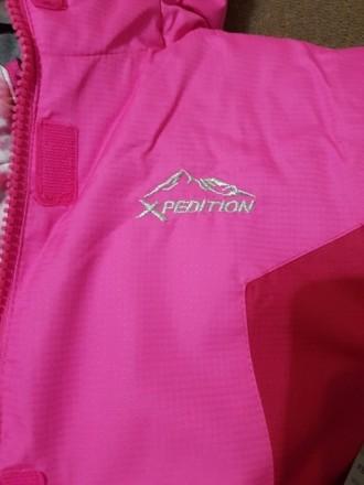 Куртка для девочки 3в1. Можно использовать как утепленную ветровку, отдельно как. Киев, Киевская область. фото 6