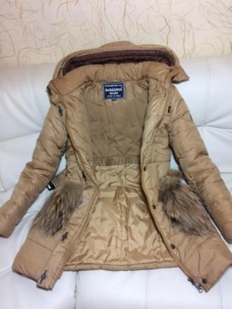 Детская зимняя куртка-пуховик DeSalitto Италия на рост 140-150 (указан 150, но п. Киев, Киевская область. фото 3