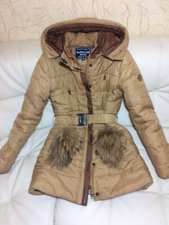 Детская зимняя куртка-пуховик DeSalitto Италия на рост 140-150 (указан 150, но п. Киев, Киевская область. фото 2